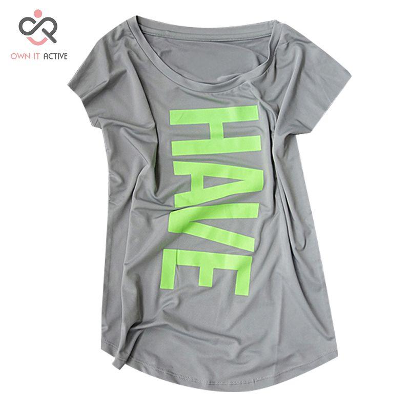 XXXL femmes Yoga chemises sport Fitness à manches courtes t-shirt dames course lâche femmes collants à séchage rapide t-shirts hauts vêtements P092