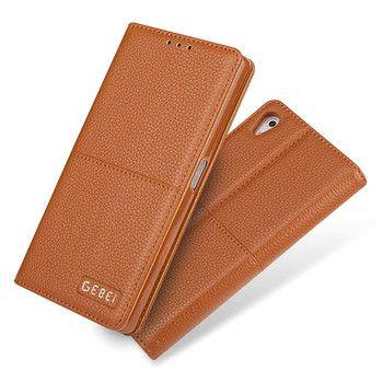 Para Sony Xperia Z5 pu Cartera de cuero Flip magnético caso para Sony Z5 Premium lujo teléfono móvil bolsa con titular de la tarjeta