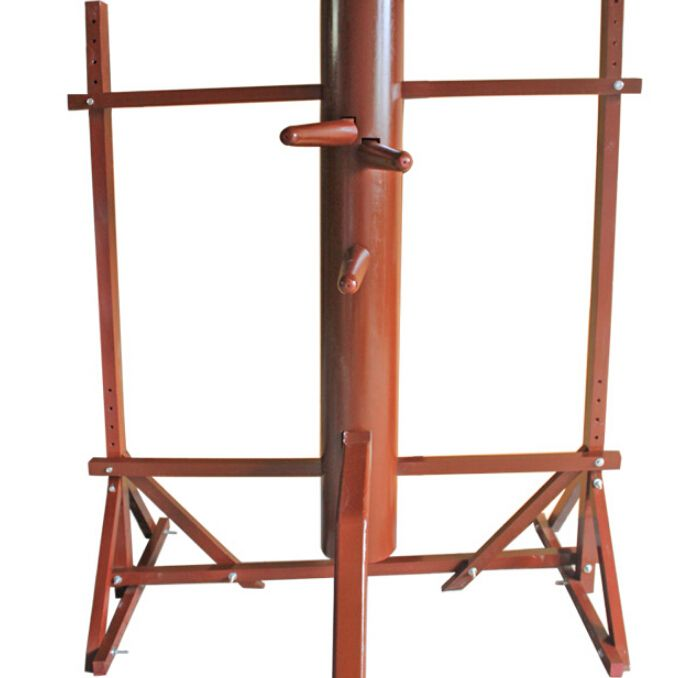Frame Wing Chun Wooden Dummy entry-level, wing chun mook jong Bruce Lee kung fu wooden dummy, Donnie Yen practice IP man 3