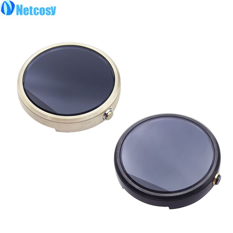 Netcosy LCD Screen For Moto 360 Watch 1st Gen 2 LCD Display+Touch Screen Assembly Repair Part For Moto 360 Gen 1st / 2nd 46mm
