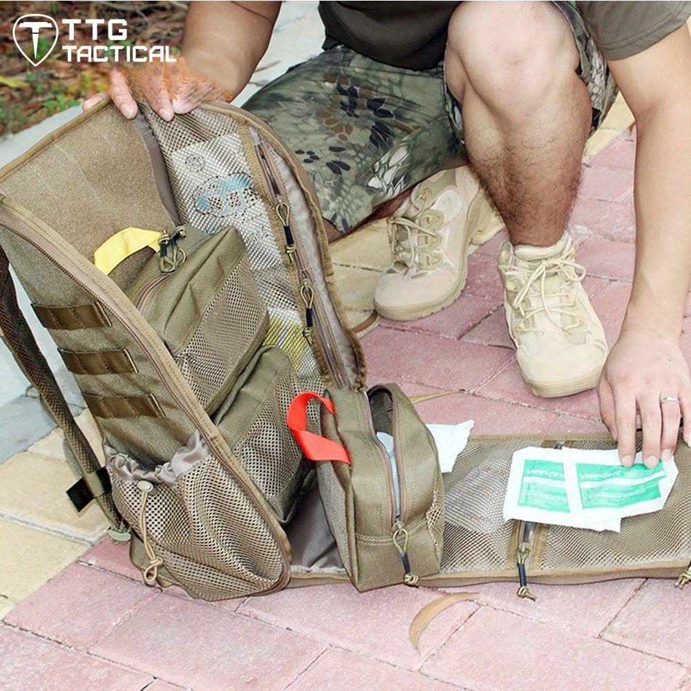 MOLLE Military Erste Hilfe Rucksack Camouflage Reise Emergency Medical Daypack Werkzeug Tragen Überleben Assault Rucksack