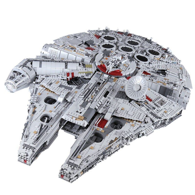 Lepin 05132 satz star destroyer millennium falcon kompatibel mit LegoINGlys 75192 ziegel kit bausteine geburtstag geschenke