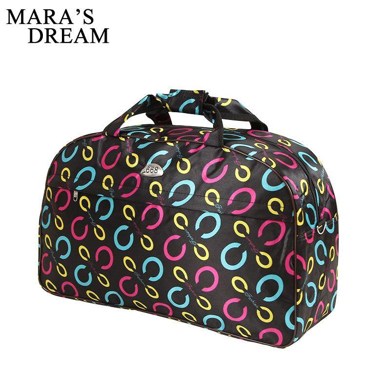 Mara's Dream Women Travel Bags Men Luggage Travel Duffle Bags Oxford Waterproof Daily Travel Handbag Bag Shoulder Hand Bag