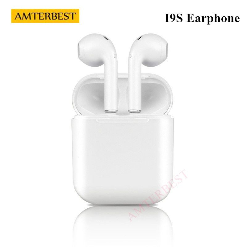AMTERBEST Wireless Earphone Bluetooth Headset In-Ear Invisible Earbud Sports Headphone for IPhone Samsung Android xiaomi HUAWEI