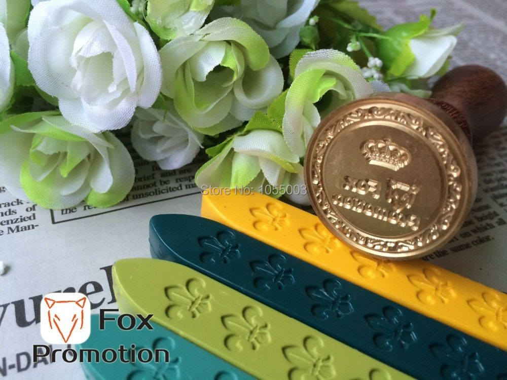 Customize Wax Stamp with Your Logo,Only Brass Stamp Head,DIY Ancient Seal Retro Stamp,Personalized Stamp Wax Seal custom design