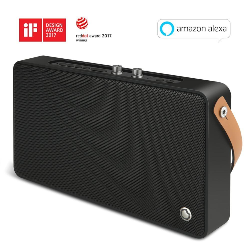 GGMM E5 Drahtlose Bluetooth Lautsprecher WiFi Lautsprecher 20 w Tragbare Schwere Bass Lautsprecher für iPhone Android Unterstützung AirPlay DLNA Spotify