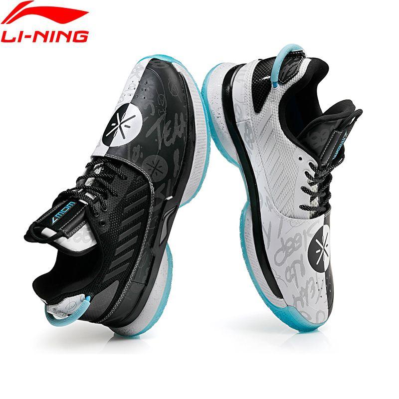 Li-Ning Men WOW 7 Team No Sleep Basketball Shoes wow7 CUSHION LiNing CLOUD wayofwade 7 Sport Shoes Sneakers ABAN079 XYL212