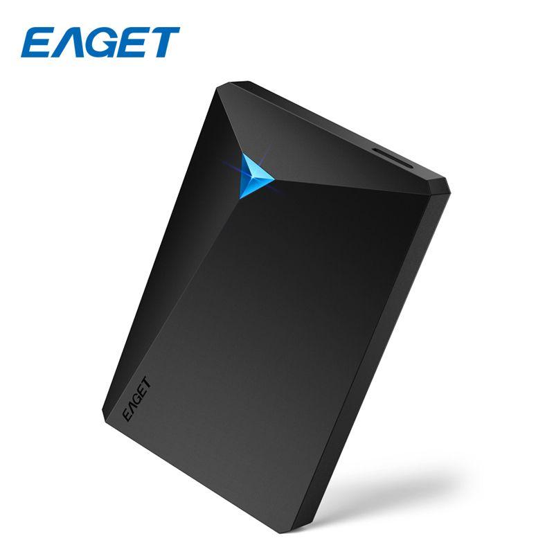 Eaget G20 Cryptage Externe Disque Dur 2 TB Haute Vitesse Antichoc USB 3.0 Disque Dur 1 TB Bureau D'ordinateur Portable Portable HDD 2.5
