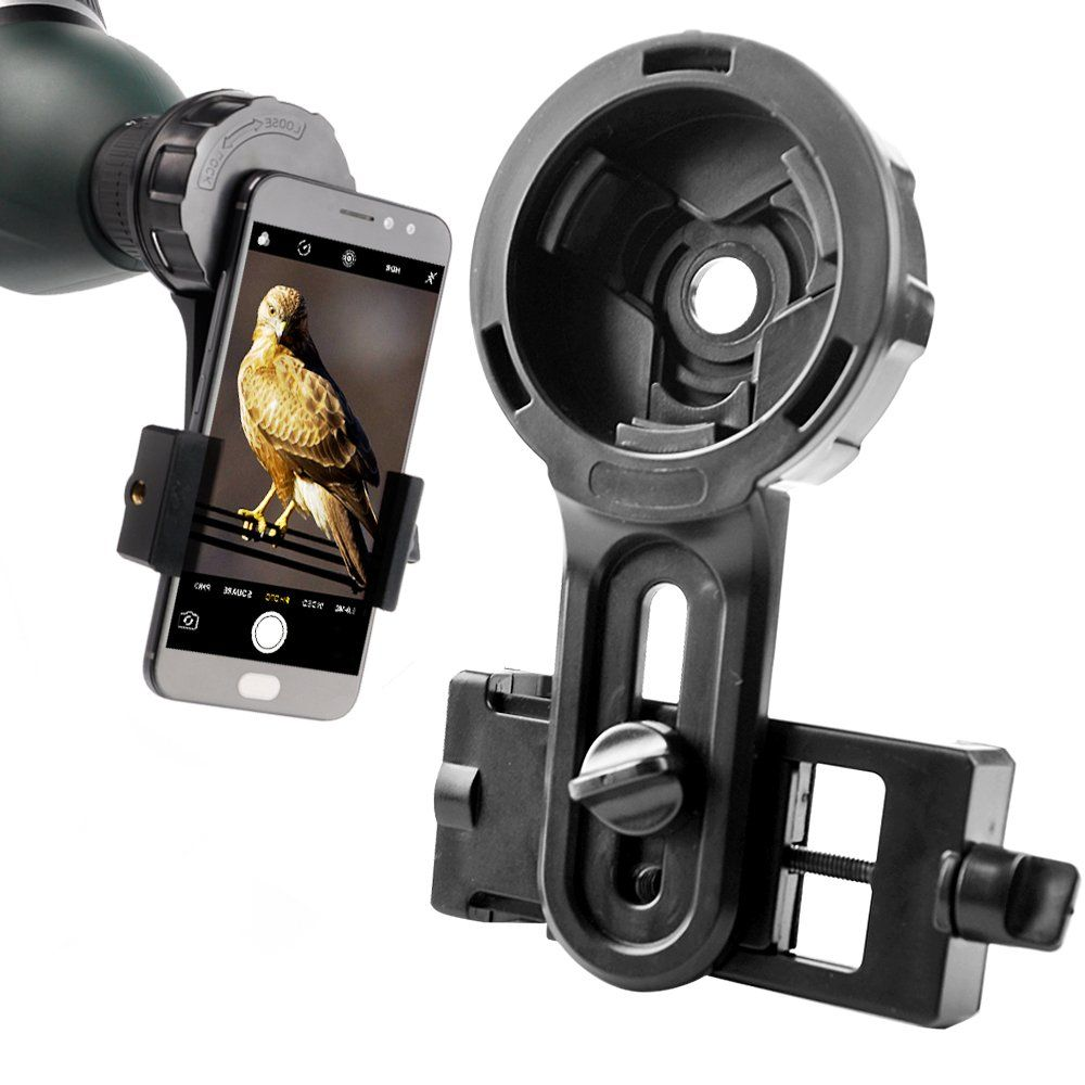 Télescope Titulaire lentille de téléphone Rapide Photographie support de montage stand pour Jumelles Monoculaire Spotting Scope Microscope soutien