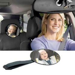 VODOOL Baby Car Mirror Safety View Back Seat Mirror Baby Facing Rear Ward Infant Care Square Safety Kids Monitor Car Accessories