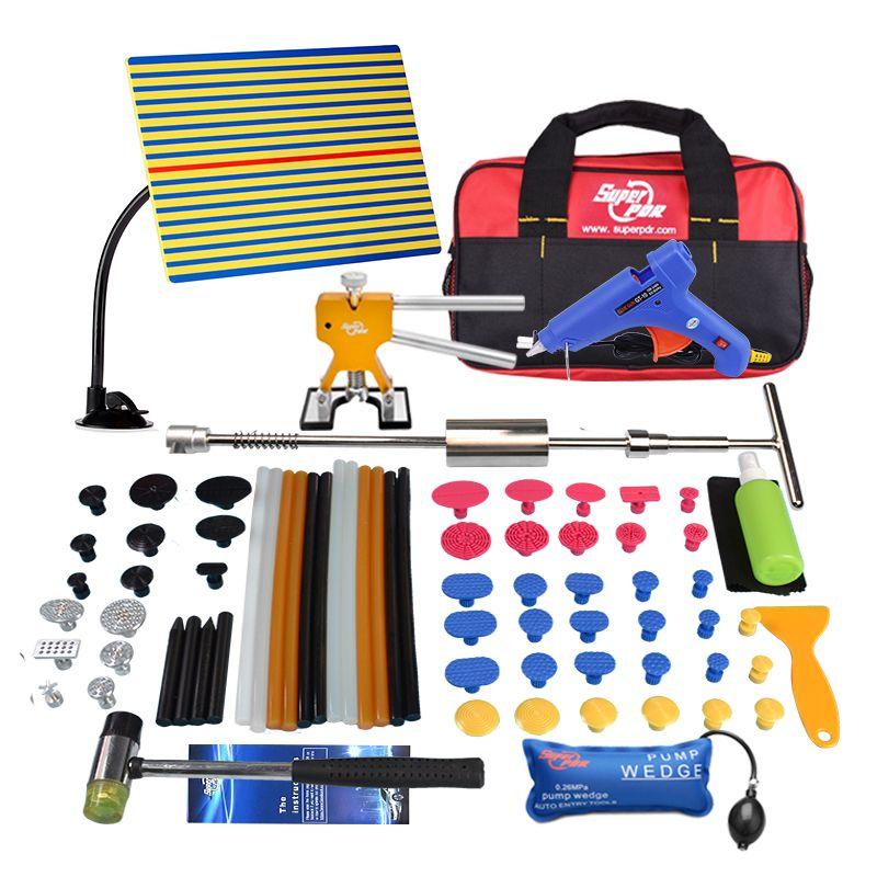 PDR Tools Kit Dent Entfernung Dent Reparatur Reflektor Bord Reflexion Bord Dent Puller Mini Heber Kleber Tabs Saugnapf