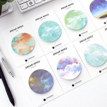 Натуральный сон серии самоклеющиеся memo pad Sticky закладка для заметок школьные офисные поставки