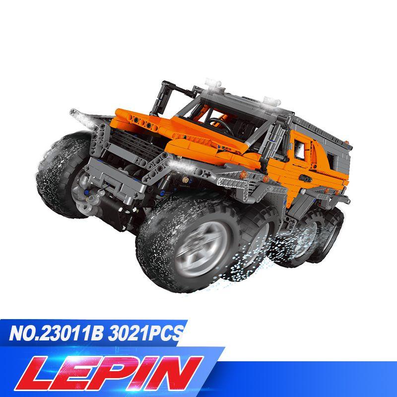 DHL LEPIN 23011/23011B 2816Pcs Technic Series Off-road vehicle Model Building Kits Block Bricks Compatible legoed 5360