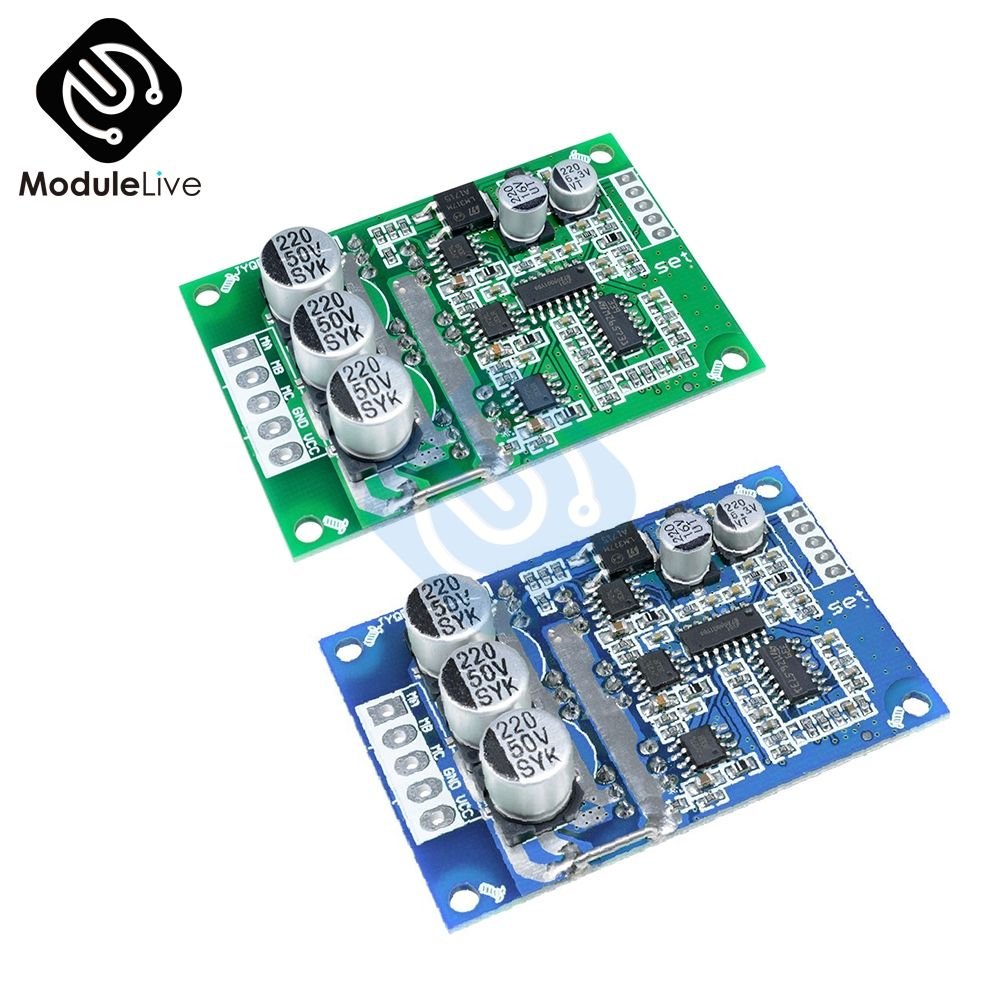 DC 12V-36V 500W PWM Hall Motor Balancing Brushless Motor Controller Automotive Balanced BLDC Car Driver Control Board Module