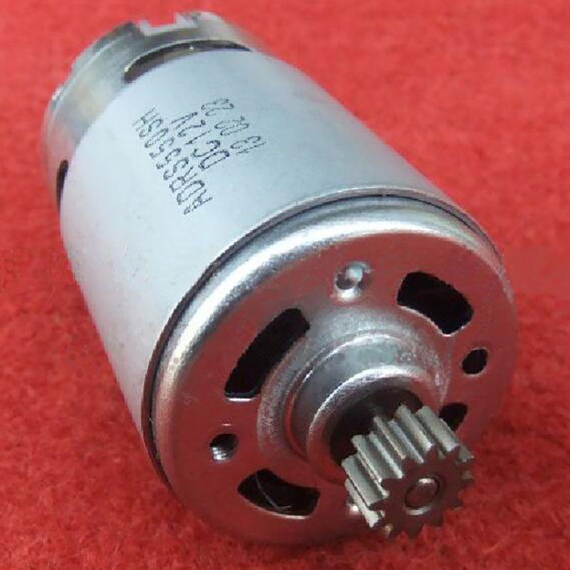 Outil électrique DC moteur 12 V 14.4 V 18 V pour BOSCH sans fil perceuse visseuse GSR12V GDR12V GSR14.4 GSR18 accessoires pièces de rechange
