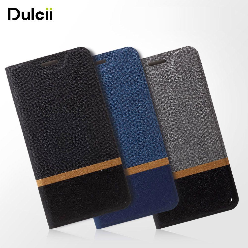 Dulcii Un X9 Cas pour HTC OneX9 Téléphone Sac Flip PU En Cuir Croix Motif Deux-couleur Couvercle de la Cellule Mobile Protection Commerciale Style