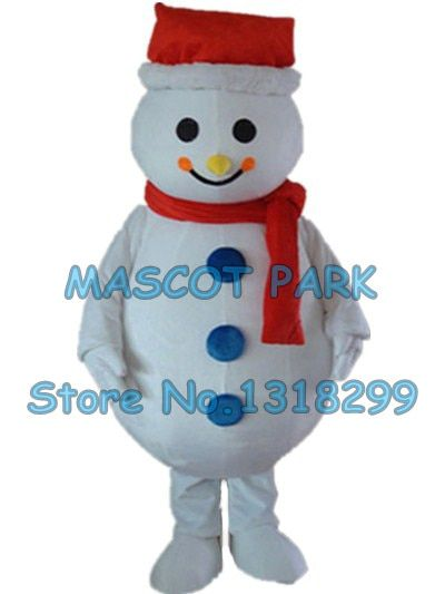 snowman mascot costume snow man christmas custom cartoon character cosply adult size carnival costume 3285