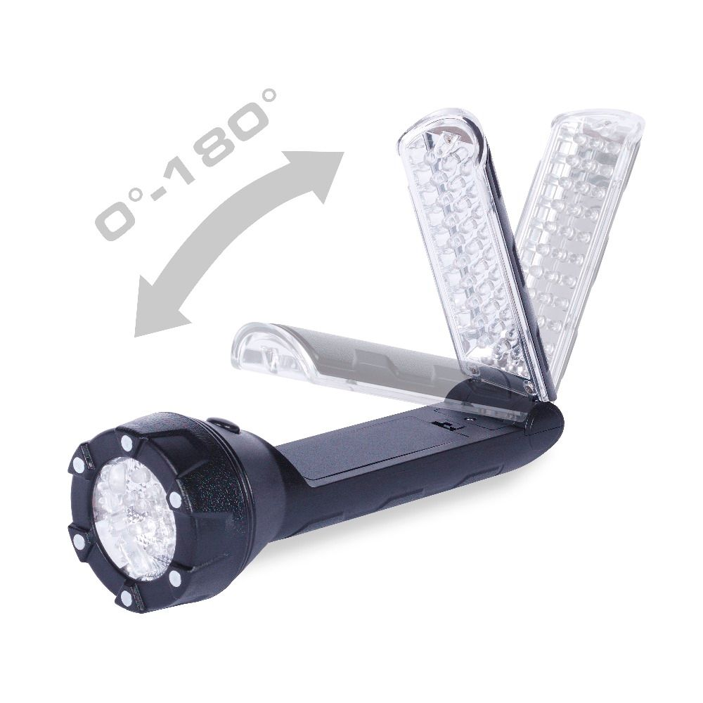 Everbrite LED Flashlight Table Light 300 Lumens Multifunction Flashlight / WorkLight LED Torch Light with Magnetic Base