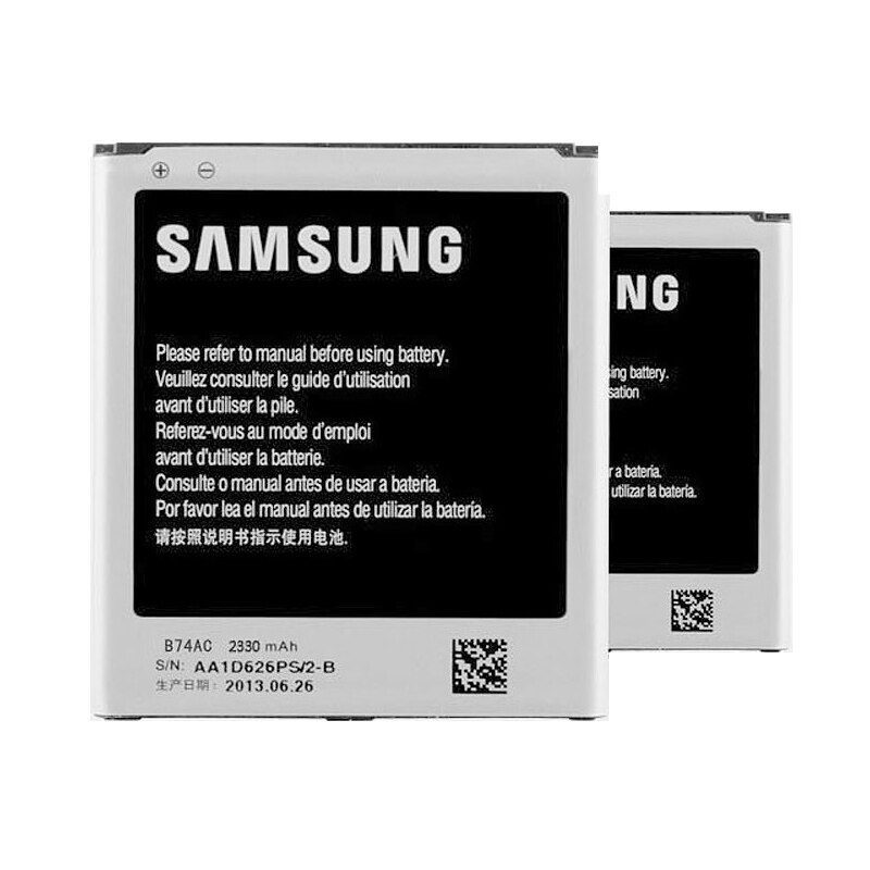 Original 2330 mah batterie für samsung galaxy c1010 s4 zoom c101 für samsung c1010 batterie b740ae b74ac + spurhaltungszahl
