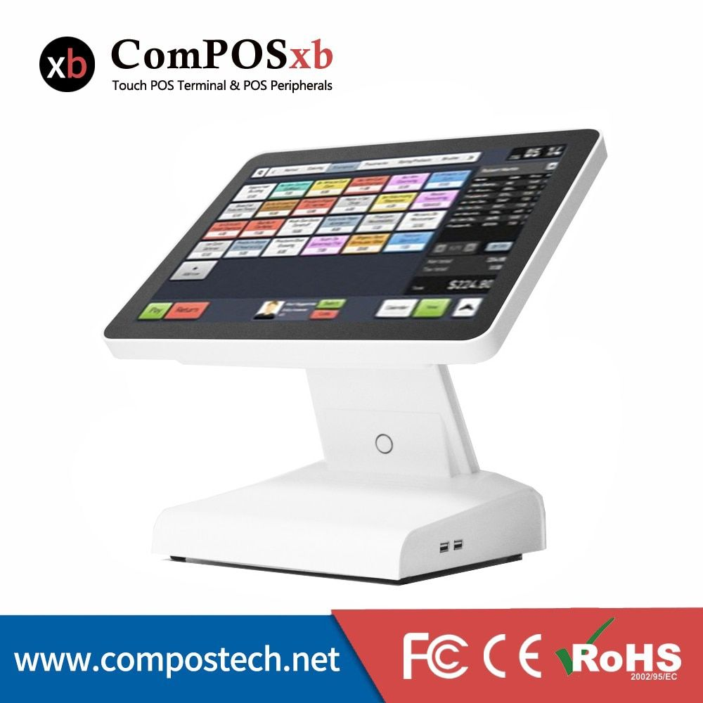 Low Price 15 Inch TFT LCD Point Of Sale Terminal Screen Touch All In One Pos System
