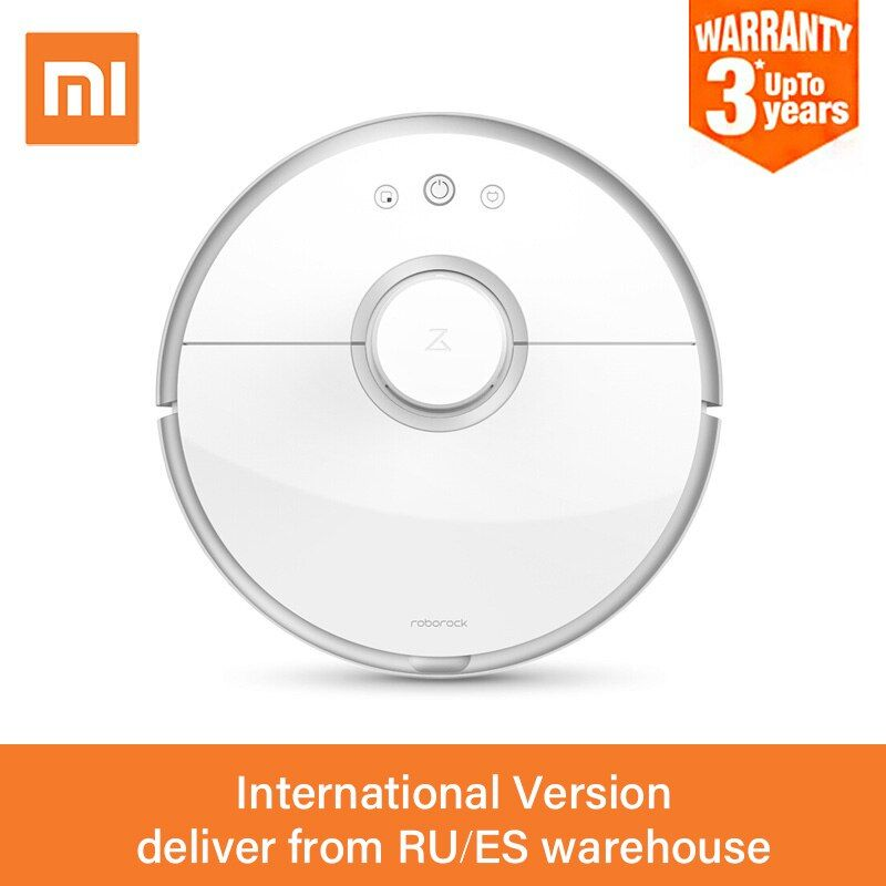 2018 Xiaomi Roborock S50 Mi Robot Vacuum Cleaner 2 For Home Dust Sterilize Smart Planned Automatic Sweep & Mop WIFI APP Control