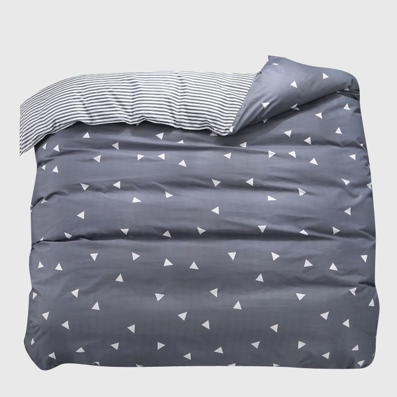 1 stücke Bettbezug 220*240 Bettwäsche Quilt Decke Tröster Abdeckung Druck Einzigen Doppel Königin König Angepasst 140*200 cm Nordic