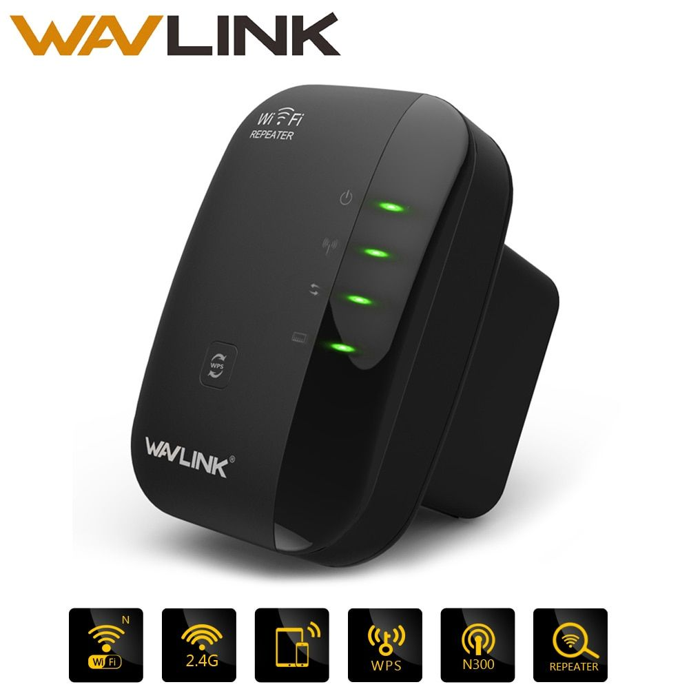 Wavlink N300 Wifi Repeater/Router/Acess point AP 300Mbps wifi signal amplifier wireless Signal <font><b>Booster</b></font> Extender 802.11n/b/g WPS