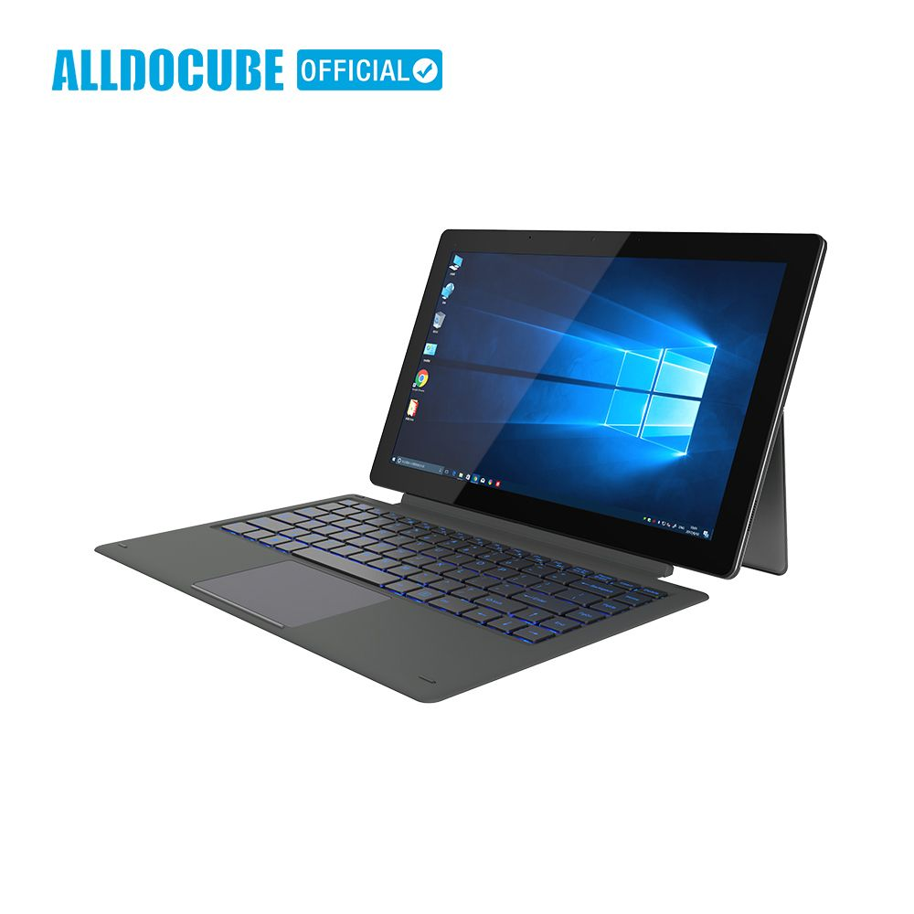 ALLDOCUBE Knote8 2 IN 1 Tablet PC 13,3 Zoll Full View 2560x1440 IPS Windows10 intel Kabylake 7Y30 8 GB RAM 256 GB ROM Micro HDMI