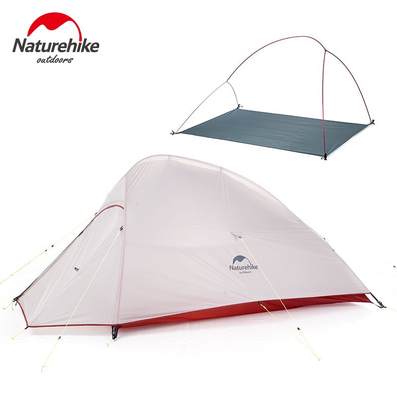 Naturehike Neues Freies Selbst Standing 2 Person Ultralight Camping Zelt Wolke BIS 2 Aktualisiert