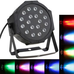 2017 New Arrival Professional 25W Dj Dmx Soundlight DMX-512 RGB LED Stage PAR Light Lighting Strobe 7 Channel Party Disco Show