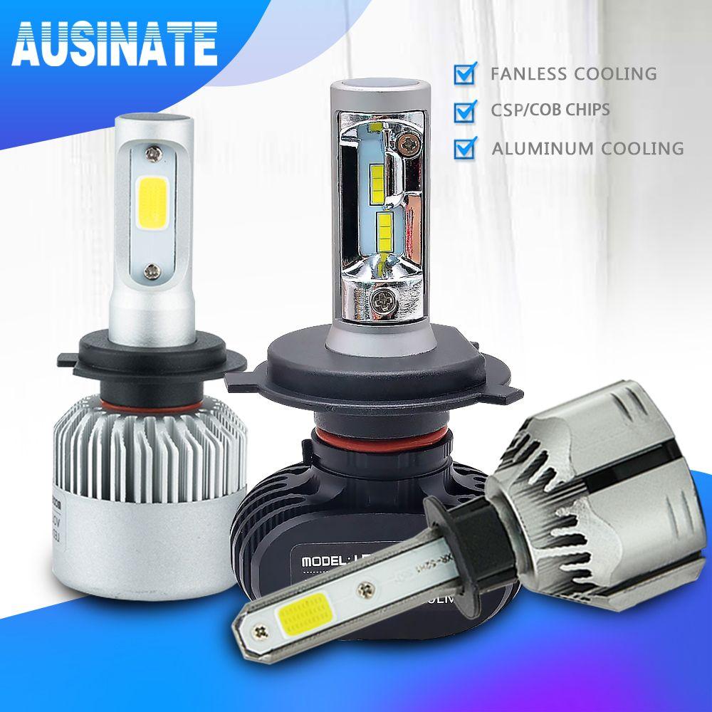 H4 H7 LED H1 H3 H8 H9 H11 9006 9005 Automatique D'ampoule de Phare de Voiture CSP Puce 50 W 8000LM Automobile Phare Antibrouillard 6500 K lampe à LED 12 V