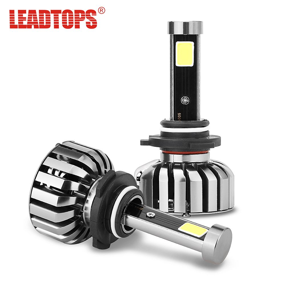 LEADTOPS Slim N7 LED Car Headlight Bulbs H4 H7 H11/H8 H1 9005 9006 H13 9004 H27 H3 80W 7200Lm 5500K Auto Headlamp Fog Light cj