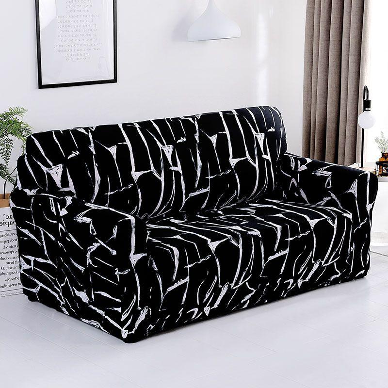 Housses de canapé extensibles élastiques modernes pour canapé de salon housses de canapé 1/2/3/4 places housse de canap