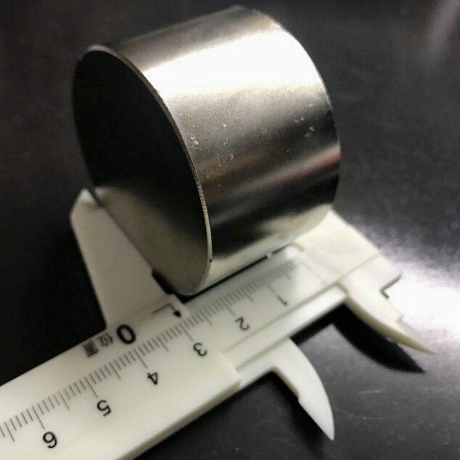1 pièces N52 Dia 50x30mm offre spéciale aimant rond super forte terre Rare néodyme magnétique en gros 50*30mm livraison gratuite