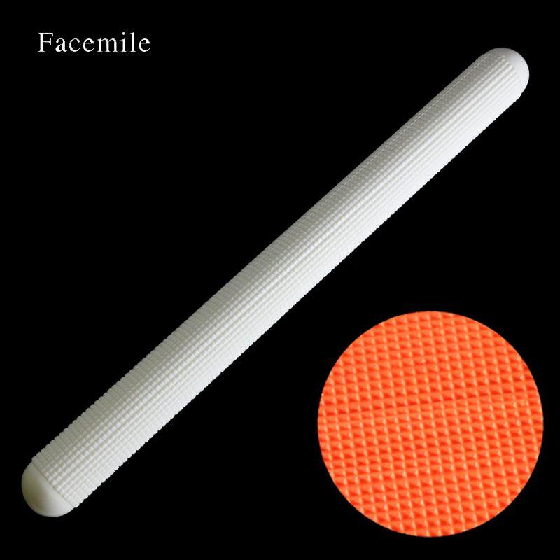 37.5 cm de Haute Qualité En Plastique Blanc Non-bâton D'échappement Fondant Rouleau À Pâtisserie Fondant Cadeau Pâte Rouleau Décoration Cadeau Rouleau 55014
