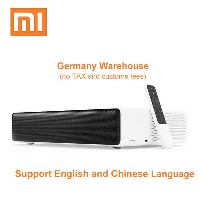 Original Xiaomi Mijia Laser Projection TV 150 Inches 1080 Full HD 4K Projector Wifi Bluetooth 4.0 Support 5000ANSI Lumens
