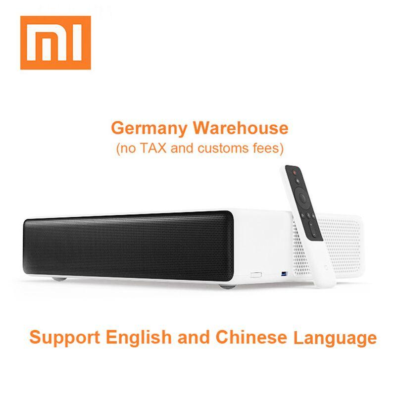 Original Xiaomi Mijia Laser Projektion TV 150 zoll 1080 Volle HD 4 karat Projektor Wifi Bluetooth 4,0 Unterstützung 5000 ANSI lumen