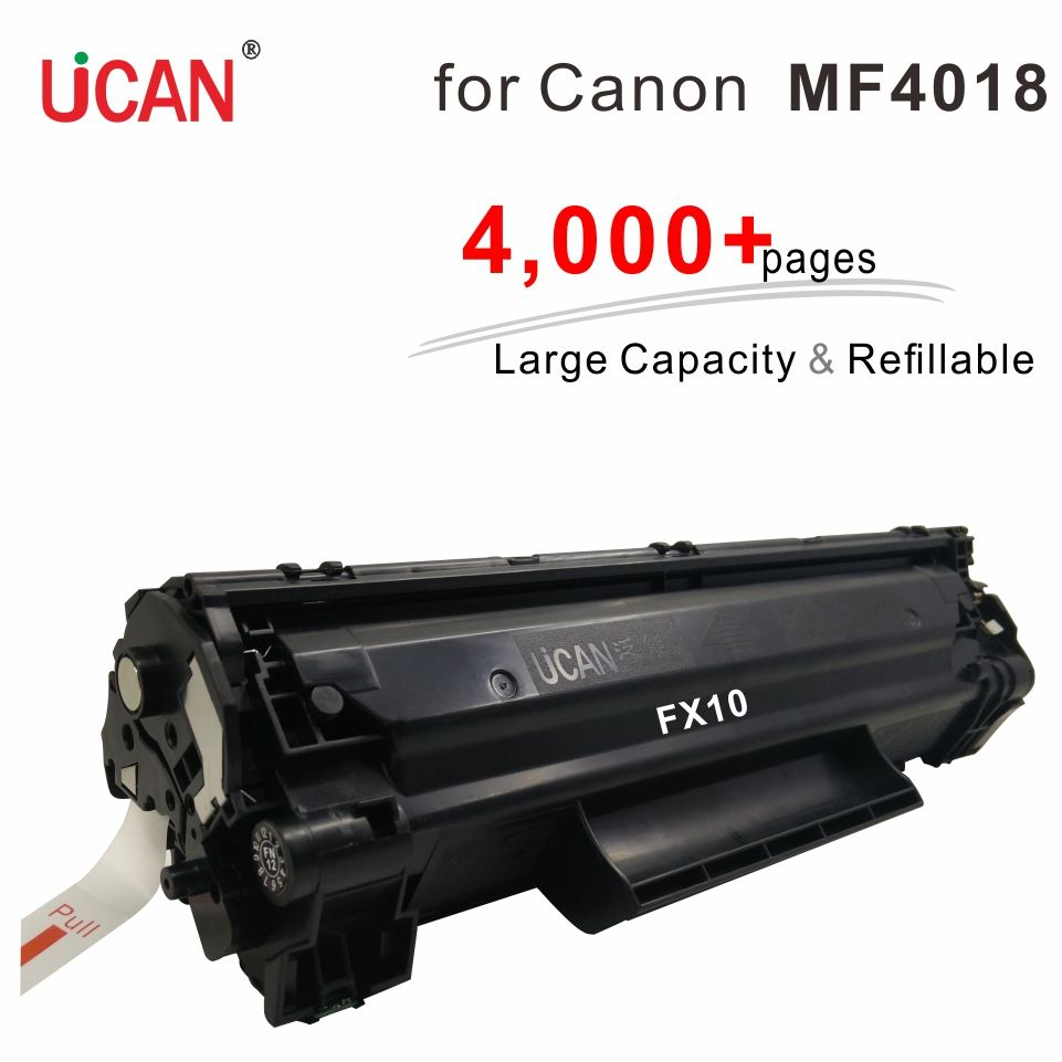 4000 pages Large Capacity Refillable Toner FX10 CRG104 Cartridges compatible Canon MF4010 MF4010B MF4012 MF4012B MF4018 Printer