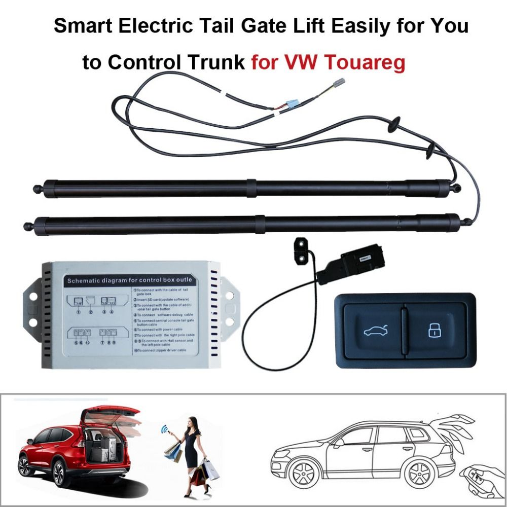 Smart Electric Tail Gate Lift Easily for You to Control Trunk Suit to Volkswagen VW Touareg Remote Control With electric suction