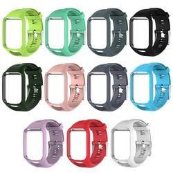 Smartband Bracelet En Silicone bande Cadre Étanche Bracelet Remplacement Bracelet pour TomTom Runner 2/Spark/Spark 3/aventurier
