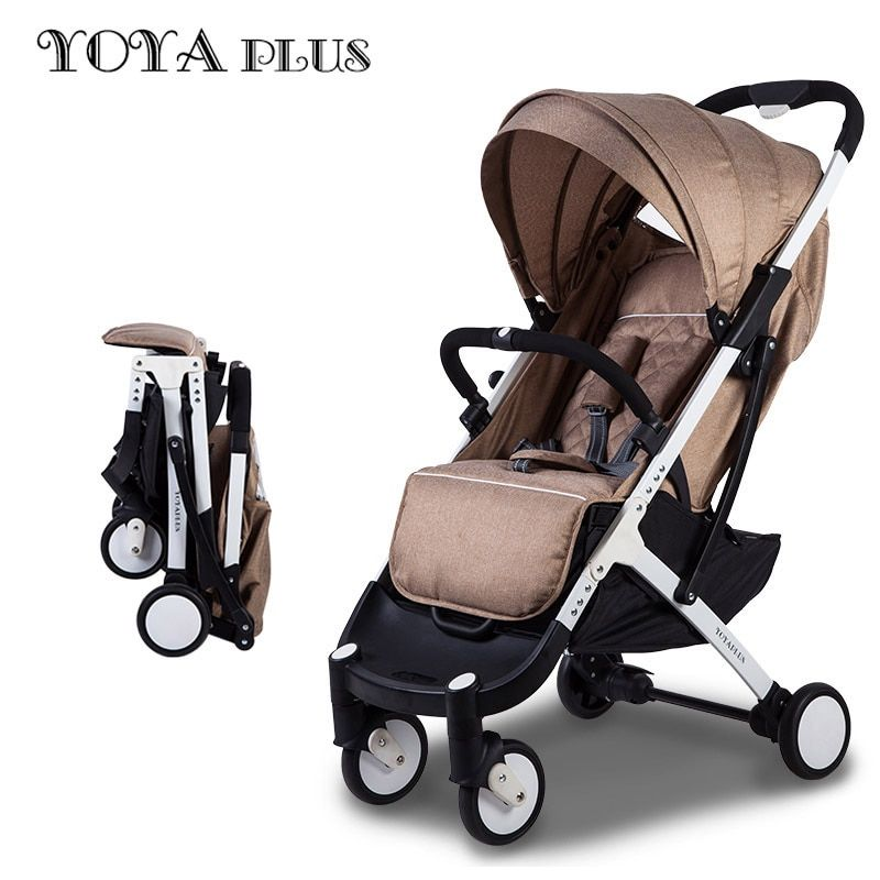 YOYAPLUS baby stroller light folding umbrella car can sit can lie ultra-light <font><b>portable</b></font> on the airplane
