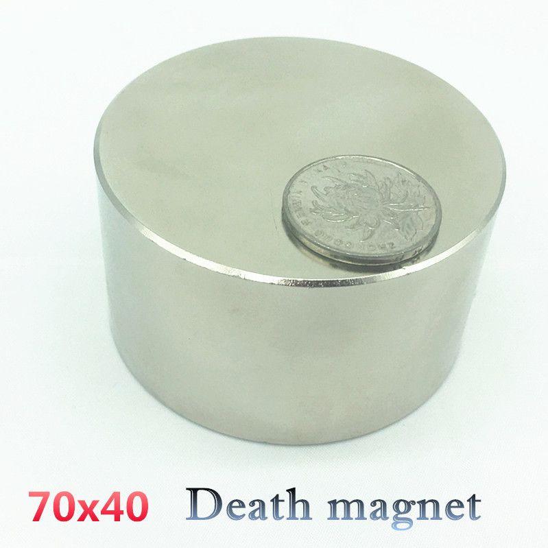 Neodym magnet 70x40 N52 rare earth super starke leistungsstarke runde schweißen suche permanent magneten 70*40 70 x 30mm gallium metall