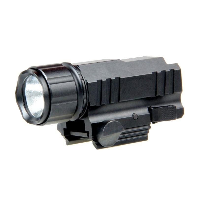 * LED Jagd-Licht Taktische Taschenlampe Taschenlampe mit Release 20mm Halterung für Pistole Airsoft