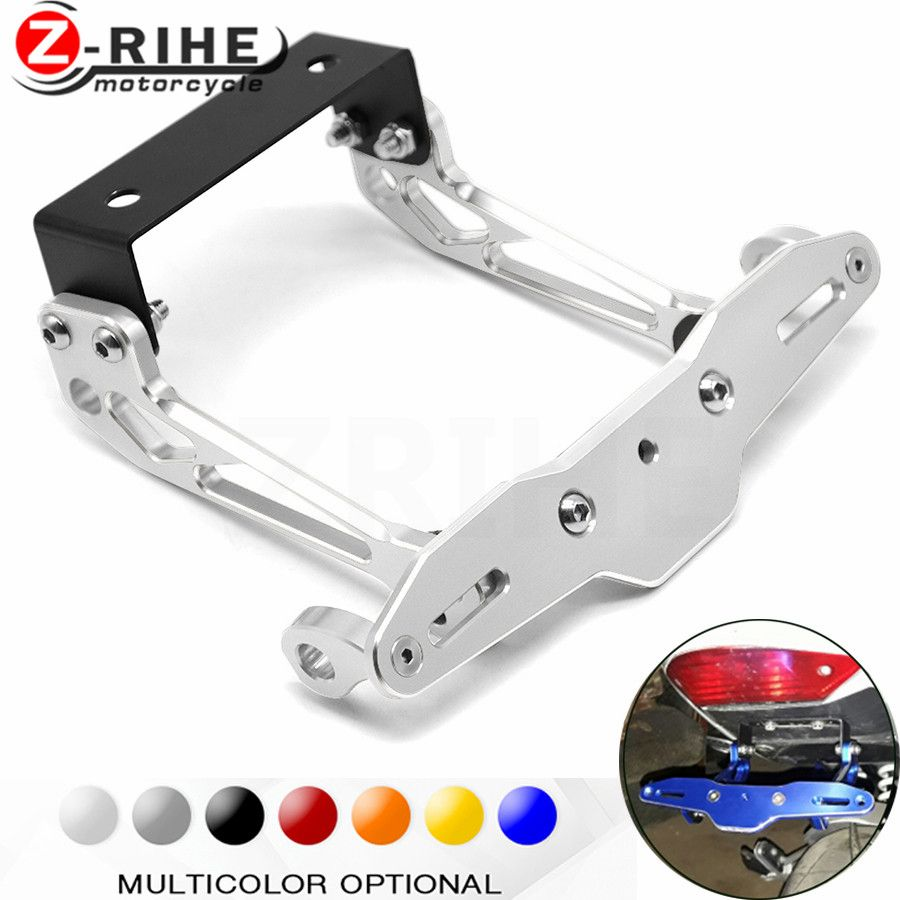 Fender Eliminator motorcycle License Plate Bracket Ho Tidy Tail Universal for Yamaha XT660Z Tenere YFZ 350 YZF-R1 fjr1300 mt 10