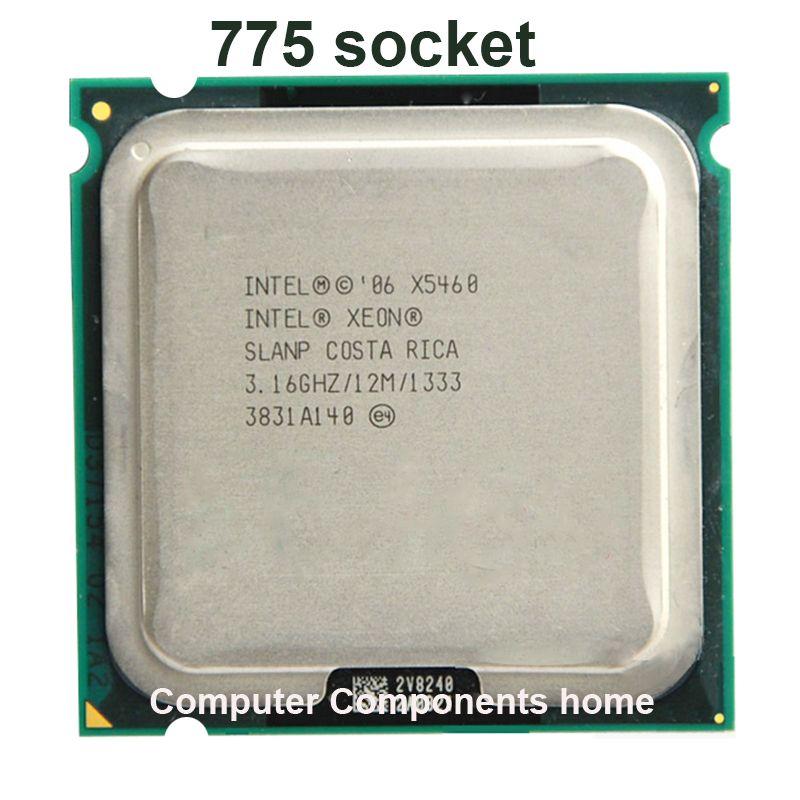 INTEL xeon X5460 LGA775 Prozessor (3,16 GHz/12 MB/1333 MHz/LGA771) 771 zu 775 CPU arbeit auf 775 motherboard garantie 1 jahr