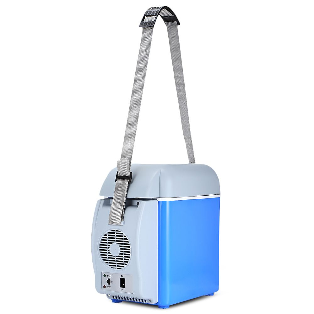 GBT-3010 Mini Portable 12v Car Refrigerators with 7.5L Thermoelectric Cooler for Cars Travel Picnics Camping Boating Offices