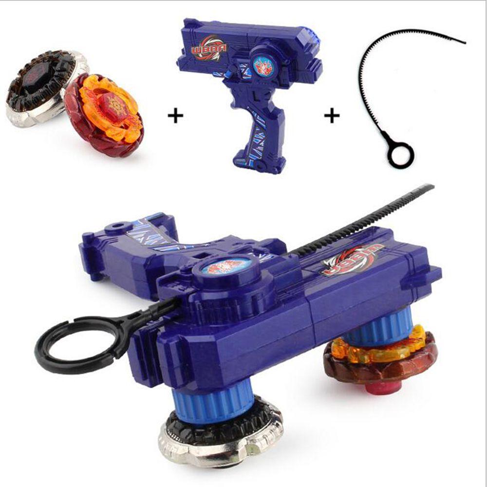 2 шт. гироскопа игрушка комплект Лео Стиль Beyblade Металл Волчки гироскопа Fusion подарок Ограниченная серия детская игра Игрушечные лошадки