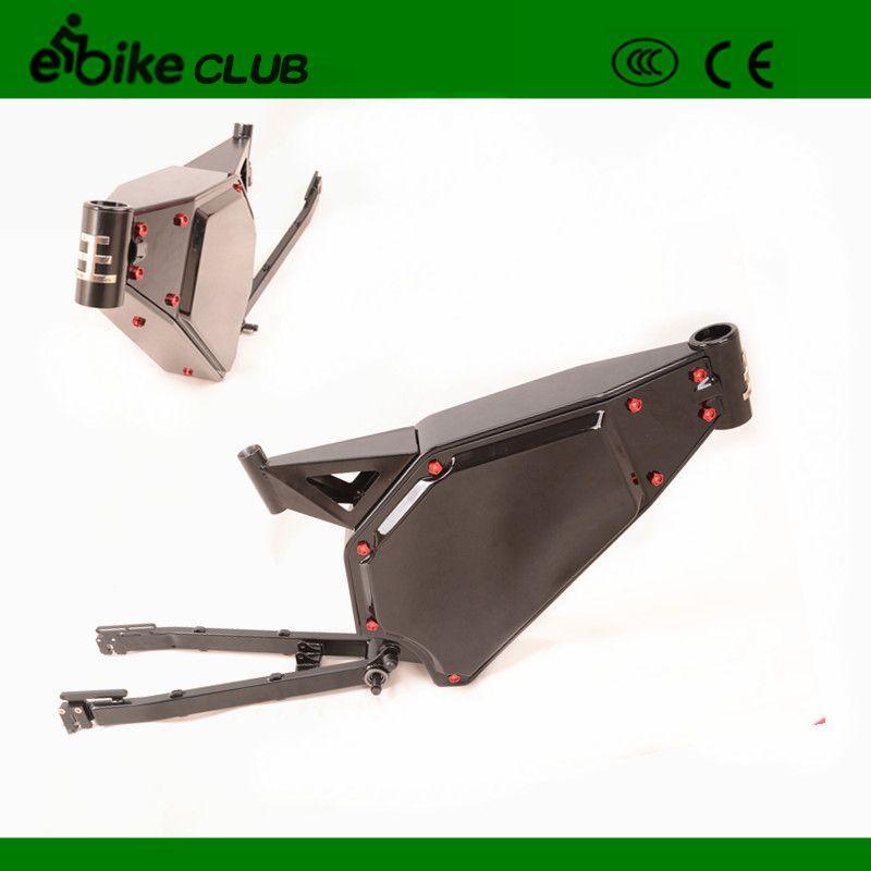 High performance full suspention enduroebike frame, electric bike frame for 5000w ebike