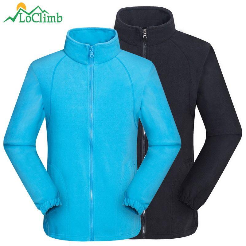 LoClimb Hommes Femmes Sport En Plein Air Polaire Veste 2018 D'hiver Chauffée Ski Manteaux Trekking Camping Randonnée Vestes Vêtements AM132