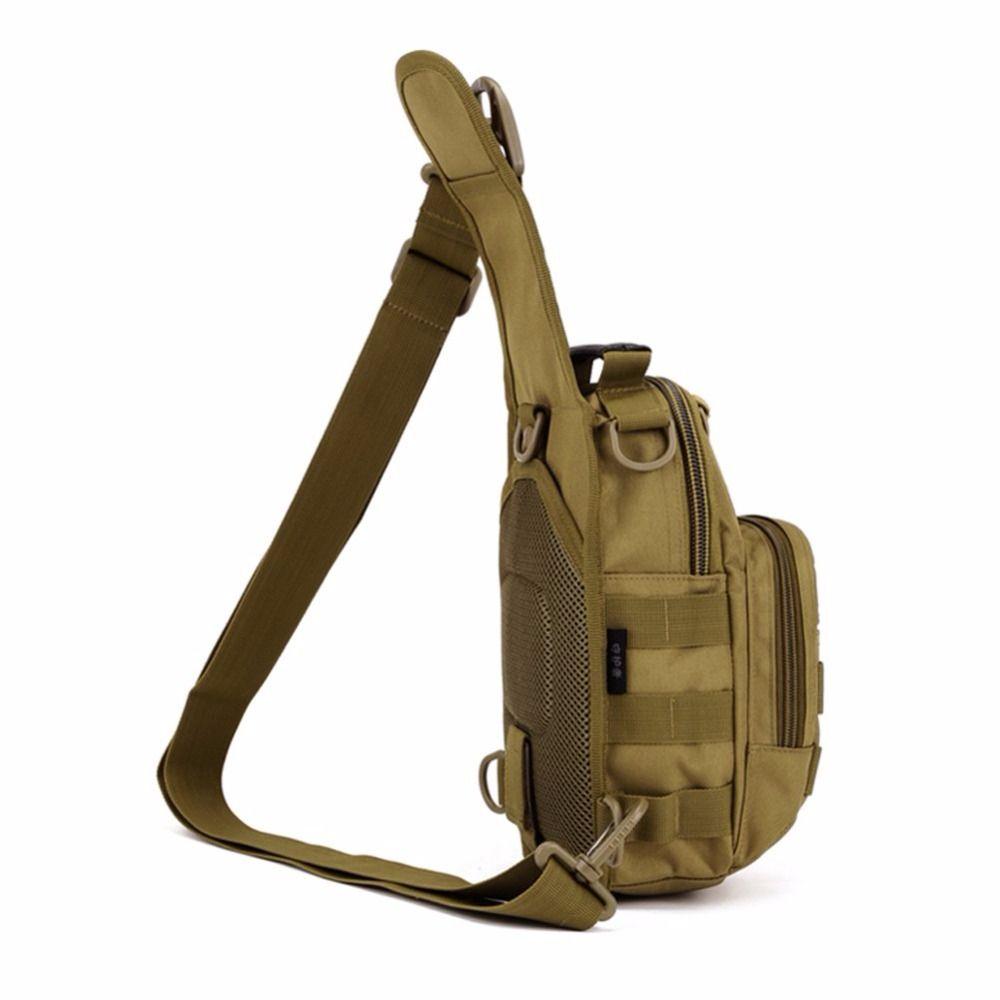 1000D Nylon hommes tactique militaire voyage randonnée Messenger sac à bandoulière sac de poitrine